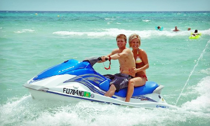 Adventures at Sea - Port Lagoon: $89 for a Two-Hour WaveRunner Dolphin Tour for Two from Adventures at Sea (Up to $199 Value)