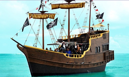 Two-Hour Pirate-Ship Cruise for Two or Four with Drinks on The Pirate Ship at John's Pass (Up to 51% Off)