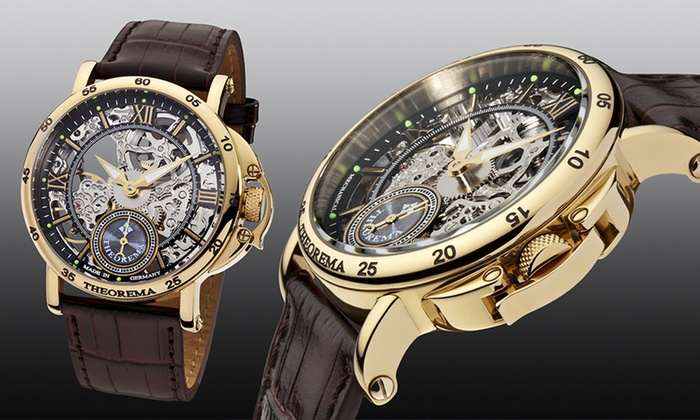 Groupon Goods Global GmbH: Theorema Casablanca Skeleton Watch for €249 With Free Delivery