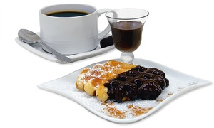 Wanda's Bakery - Espresso Bar: CC$16 for a Half-Dozen Assorted Liège Waffles at Wanda's Belgian Waffles (CC$29 Value)