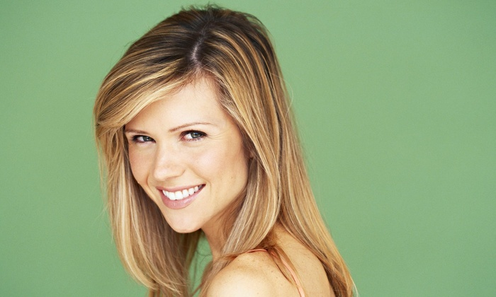 A Hair Hut - De Soto: Highlights and Blow-Dry from A Hair Hut (55% Off)