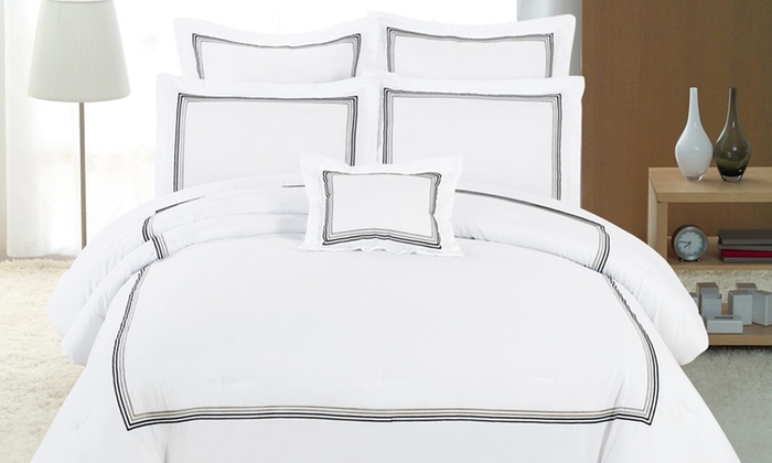 Duck River Textile Hotel Collection Comforter Sets: Duck River Textile 7-Piece Comforter Sets (Up to 61% Off). Multiple Options Available. Free Shipping and Returns.