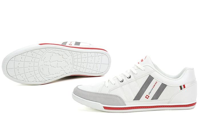 Alpine Swiss Stefan Men's Retro Sneakers (Size 7)