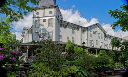 groupon daily deal - 2-Night Weekend or Weekday Stay for Two at Riverside: The Inn at Cambridge Springs in PA. Combine Up to 6 Nights.