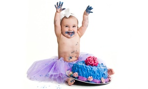 Creatively Speaking Photography: CC$39 for a Baby's First Birthday Photo-Shoot Package at Creatively Speaking Photography (CC$85.95 Value)