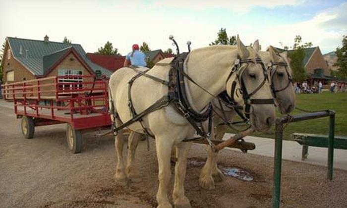 Estes Park Horseback - Estes Park: Haunted Hayride for Two or Four at Estes Park Horseback (Up to 52% Off)