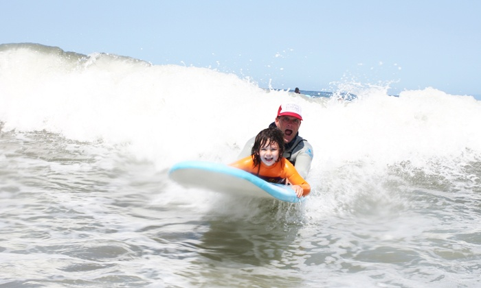 University of Surfing - University of Surfing: Two-Hour Introductory Surfing Lesson for One or Two at University of Surfing (Up to 32% Off)