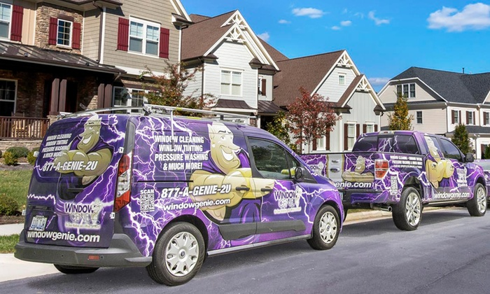 Window Genie of South Raleigh - Raleigh / Durham: Window- and Gutter-Cleaning Services from Window Genie (Up to 60% Off)
