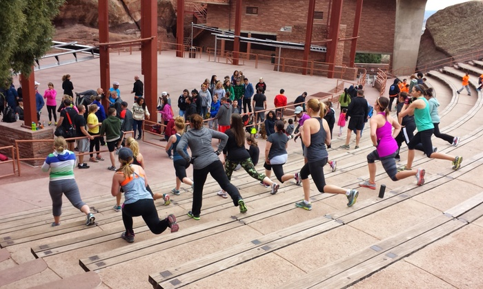 Red Rocks Boot Camp - Red Rocks Amplitheatre: $39 for One Month of Unlimited Boot Camp Classes at Red Rocks Boot Camp ($99 Value)