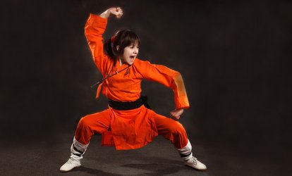 image for One or Two Months of Unlimited Lessons at U.S. Shaolin Kung Fu (Up to 74% Off)