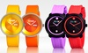 Crayo Unisex Watches: Crayo Unisex Fresh or Button Watch. Multiple Colors Available. Free Returns.