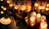 Trend Matters 20 Warm LED Rattan Ball String Lights: Trend Matters 20Warm LED Rattan Ball String Lights