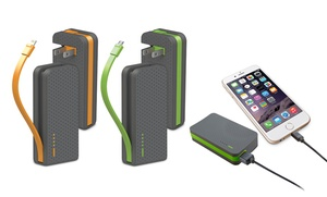 Ihome Omni Powerbanks With Integrated Cables