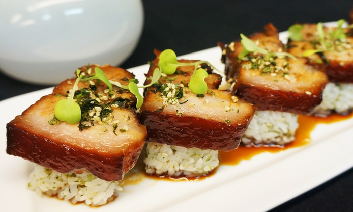 Asian fusion tapas zen asian fusion tapas lounge groupon for Akane japanese fusion cuisine