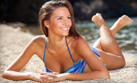 One or Three Spray or UV Tans or One Custom-Blended Airbrush Tan at Solar Dimensions (Up to 68% Off)