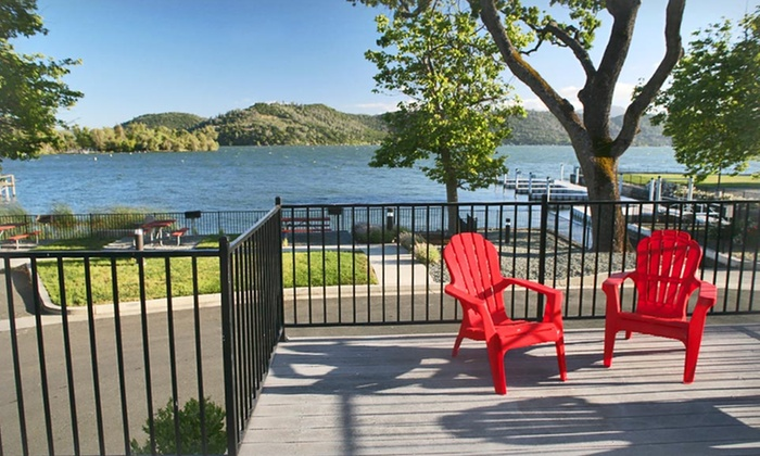 Clear Lake Cottages & Marina - Clearlake, CA: 1-Night Stay for Two with Wine and Kayak Rental at Clear Lake Cottages & Marina in Clearlake, CA