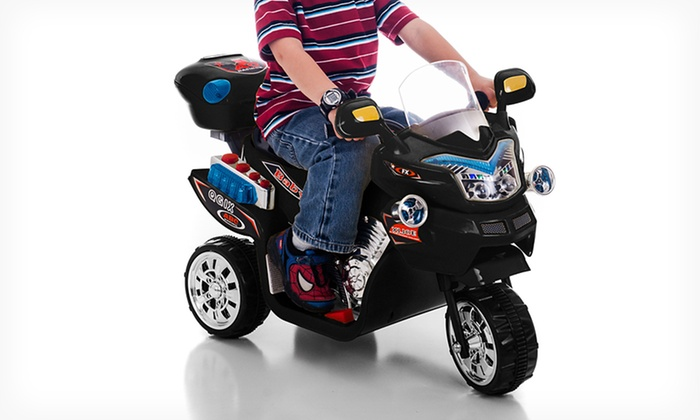 Lil' Rider FX 3-Wheeled Battery-Powered Bike: $69.99 for a Lil' Rider FX 3-Wheeled Battery-Powered Bike ($199.99 List Price). Multiple Colors Available. Free Shipping