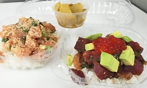 Dry Dock Fish Company: Fresh Seafood or Hawaiian Poke Bowls at Dry Dock Fish Company (Up to 47% Off)