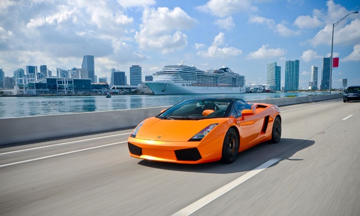 Drive EXR - Key Biscayne: 25-Minute Lamborghini Gallardo Driving Experience from Drive EXR (Up to 60% Off)