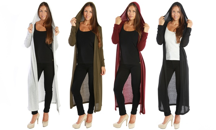 Nelly Women's Long Hatchi Cardigan