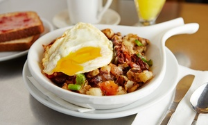 18 West Sports Grill and Banquets: Sunday Brunch for Two or Four at 18 West Sports Grill and Banquets (Up to 55% Off)