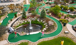 Chuckster's Family Entertainment Center: Mini Golf for One, Two, or Four at Chuckster's Family Entertainment Center (Up to 41% Off)