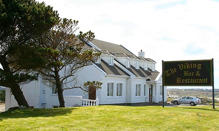 Donegal Coast: Up to 3 Nights for Two with Breakfast, Afternnon Tea and Late CheckOut at Carey's Viking House Hotel