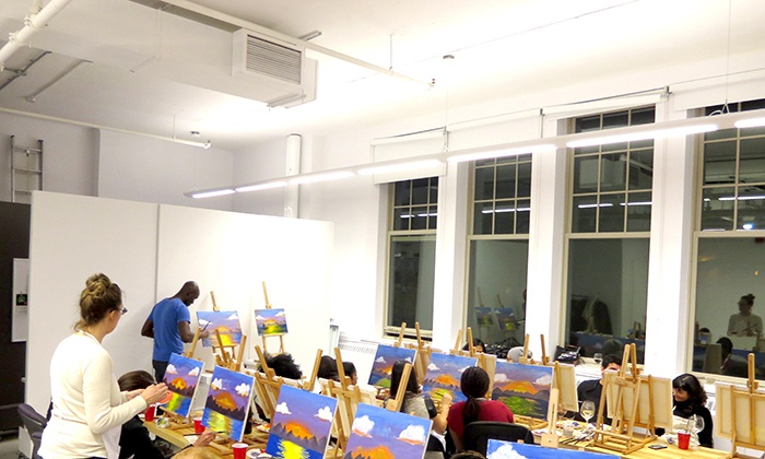 Sip and Paint - Sip and Paint: Up to 47% Off Two-Hour Social Painting Event at Sip and Paint