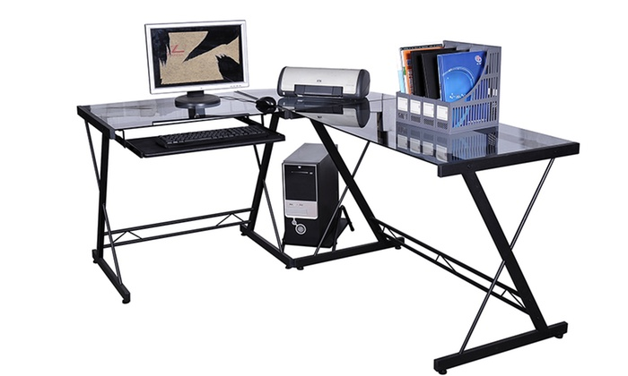 Scrivanie per computer groupon goods