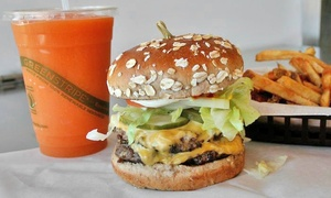 American WildBurger: $7 for $10 Worth of Burgers and American Food at American Wildburger. Order Online.
