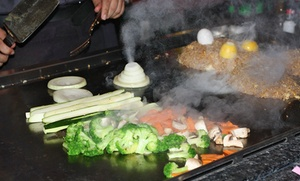Fujiyama - Stuart: Japanese Cuisine and Drinks for Two or More at Fujiyama - Stuart (Up to 37% Off). Two Options Available.