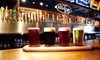 The Brass Tap - Oldsmar: Beer Pairing with Flights and Entrees for Two or Four at The Brass Tap (Up to 47% Off)