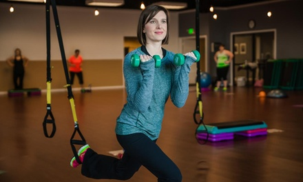 One-Month Membership with Unlimited Women's Fitness Classes or 10 Fitness Classes at Figures (Up to 65% Off)