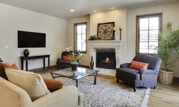 Twin City Fireplace & Stone Company - Multiple Locations: Gas Fireplace with Venting System from Twin City Fireplace and Stone Company (Up to 50% Off)