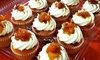 The Peach Cobbler Factory - Multiple Locations: One Dozen Cupcakes, or Pies, Cobblers, and Cinnamon Rolls at The Peach Cobbler Factory (Up to 52% Off)