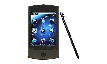 Eclipse 4GB Touchscreen Media Player with Stylus