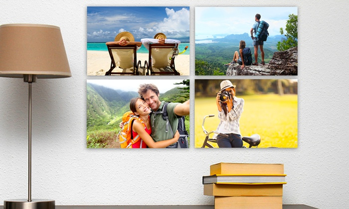 "Picture It On Canvas: One, Three, Five, or Eight 7""x10"" Custom Prints on Metal from Picture It On Canvas (Up to 93% Off)"