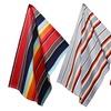 Set of 2 Cotton Blanket Striped Kitchen Towels