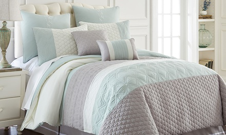 Embroidered Comforter Sets (8-Piece)