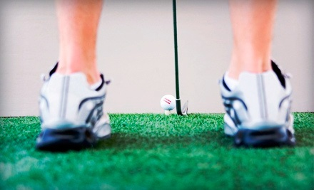 18 Holes of Indoor Simulated Golf for Two or Four at The Triangle Junior Golf School (Up to 60% Off)