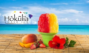 Hokulia Authenic Hawaiian Shave Ice of Temecula: $16 for $24 Worth of Shave Ice at Hokulia Authenic Hawaiian Shave Ice of Temecula