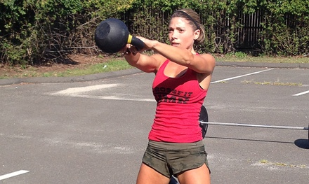 One Month of CrossFit Classes or CrossFit Beginner's Package at Crossfit KMK (Up to 68% Off)