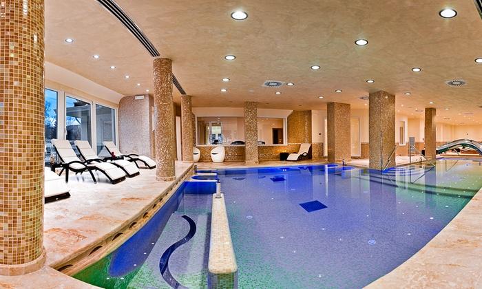 Fiuggi Terme Resort & SPA - Fiuggi Terme: Percorso benessere illimitato di coppia al Fiuggi Terme Resort & Spa con cena di 4 portate (sconto fino a 46%)