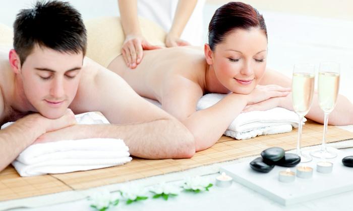 Spa Vargas Wellness  - Pheasant Run: $199 for Massage, Mini Facials, & Mimosas for 2, Fri–Sun or Mon–Thur at Spa Vargas Wellness ($392Value)