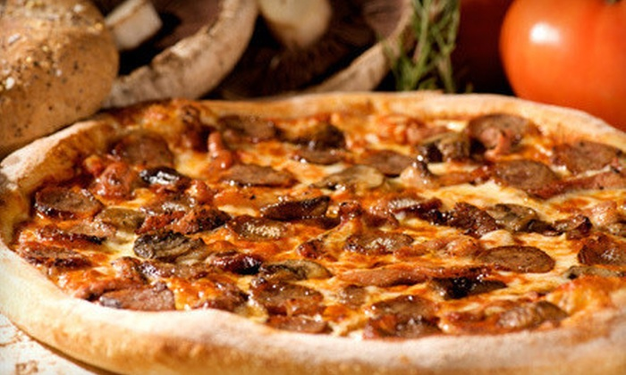 Pizza Oven - SPOKANE: Pizza and Appetizers at Pizza Oven (Up to 52% Off). Two Options Available.