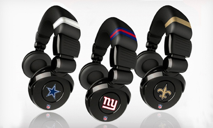 66509a76 NFL Headphones   Groupon Goods