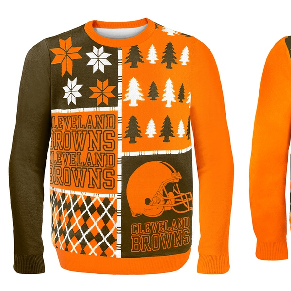 competitive price 2c27f 4b802 NFL Ugly Sweaters Busy Block
