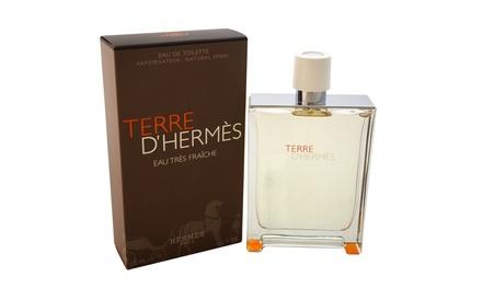 Terre d'Hermès Eau Tres Fraiche Eau de Toilette for Men (4.2 Fl. Oz.)