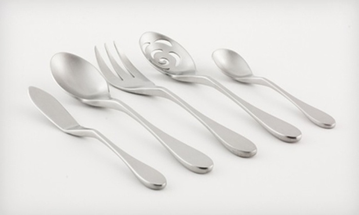 Knork Flatware: Stainless-Steel Knork Flatware (Up to 69% Off). Two Options Available.