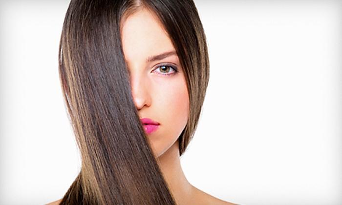 Dakota M Salon & Spa - Northeast Virginia Beach: Haircut or Partial Highlights at Dakota M Salon & Spa (Up to 56% Off).